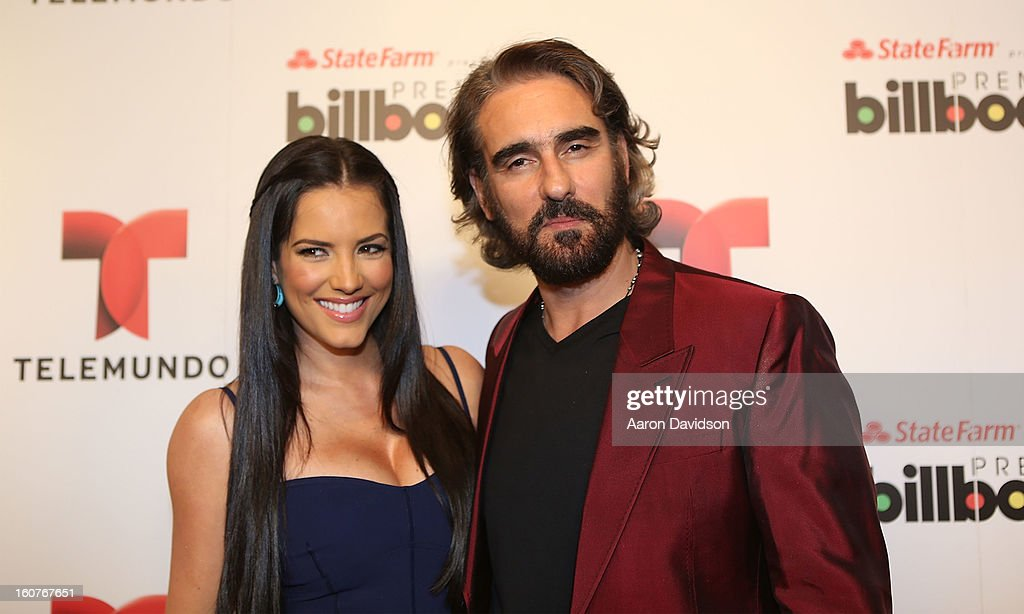 <a gi-track='captionPersonalityLinkClicked' href=/galleries/search?phrase=Gaby+Espino&family=editorial&specificpeople=4233029 ng-click='$event.stopPropagation()'>Gaby Espino</a> and Miguel Varoni attend Telemundo and Premios Billboard 2013 Press Conference at Gibson Miami Showroom on February 5, 2013 in Miami, Florida.