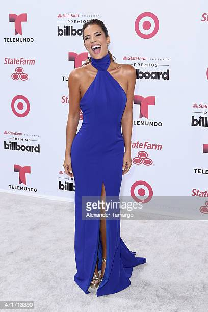 Gaby Espino arrives at 2015 Billboard Latin Music Awards presented bu State Farm on Telemundo at Bank United Center on April 30 2015 in Miami Florida