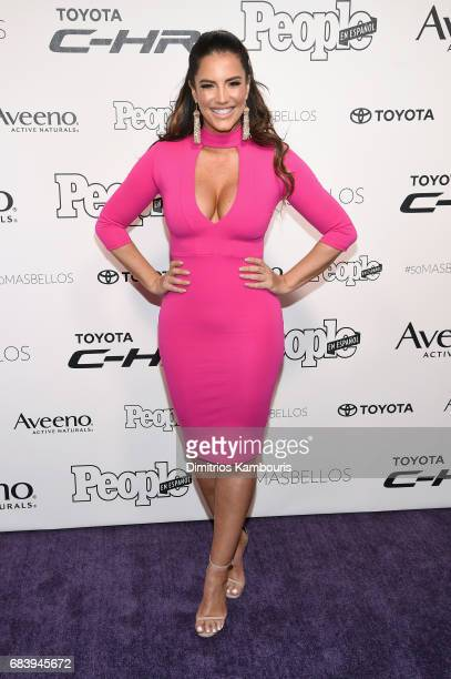 Gaby Espino arrives at People en Espanol's 50 Most Beautiful Gala 2017 at Espace on May 16 2017 in New York City