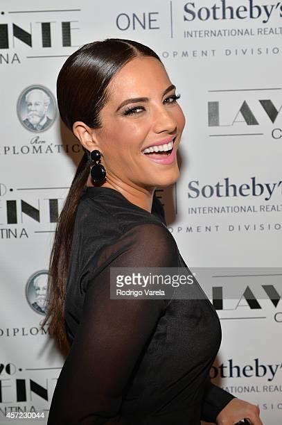 Gaby Espino attends I Love Venezuelan Foundation Event Cantina La No 20 at The Icon Brickell on October 14 2014 in Miami Florida
