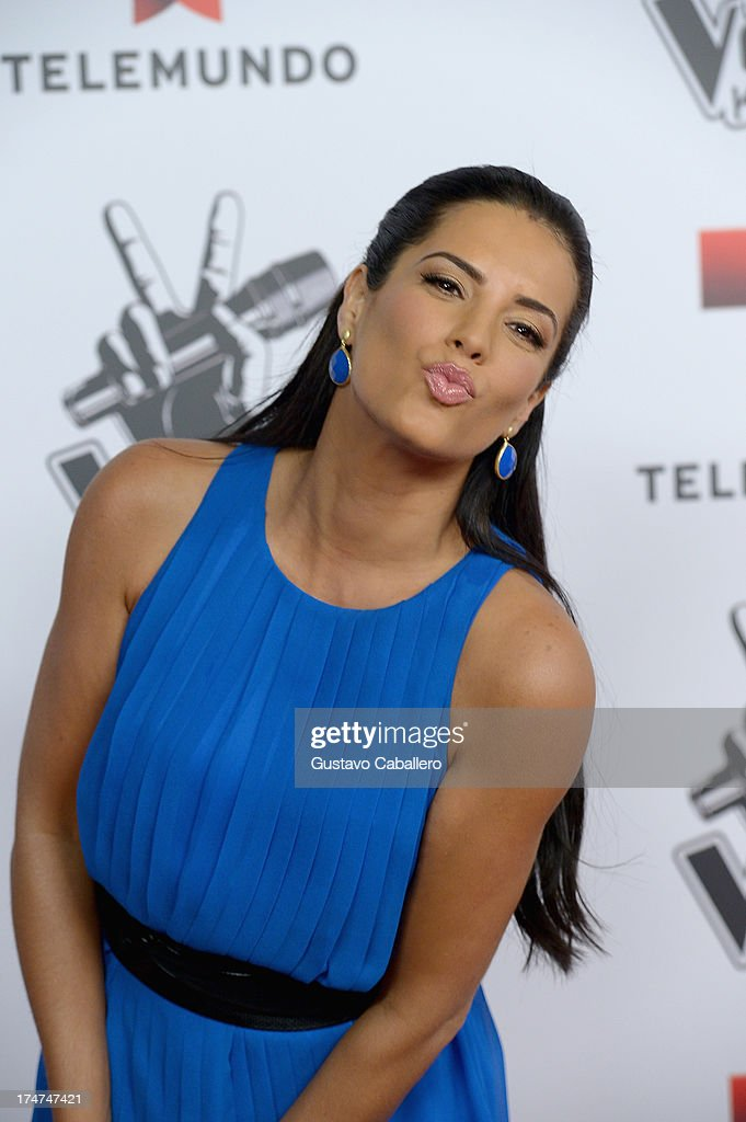 <a gi-track='captionPersonalityLinkClicked' href=/galleries/search?phrase=Gaby+Espino&family=editorial&specificpeople=4233029 ng-click='$event.stopPropagation()'>Gaby Espino</a> attends Telemundo's 'La Voz Kids Finale on July 27, 2013 in Miami, Florida.