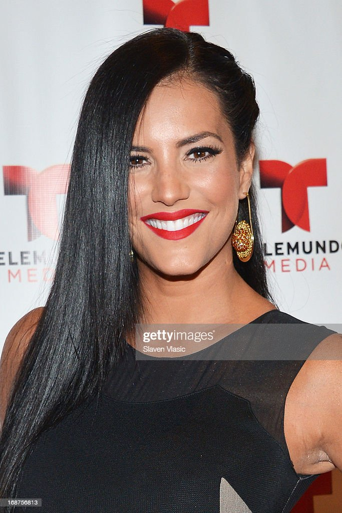 Gaby Espino attends the 2013 Telemundo Upfront at Frederick P. Rose Hall, Jazz at Lincoln Center on May 14, 2013 in New York City.