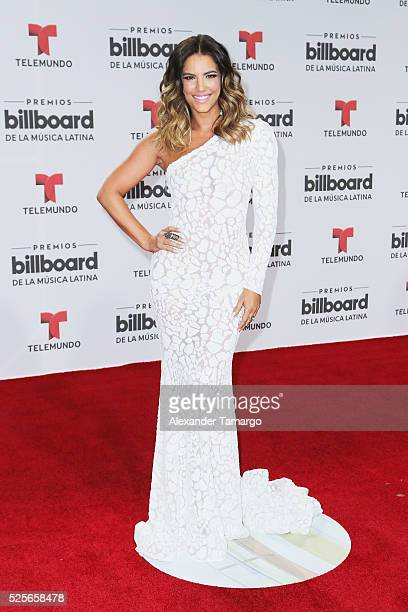 Gaby Espino attends the Billboard Latin Music Awards at Bank United Center on April 28 2016 in Miami Florida