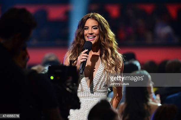 Gaby Espino onstage at 2015 Billboard Latin Music Awards presented by State Farm on Telemundo at Bank United Center on April 30 2015 in Miami Florida