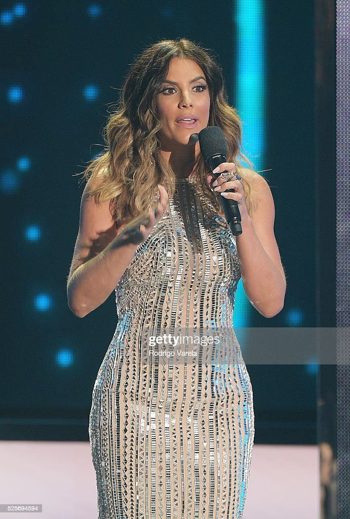 Gaby Espino onstage at the Billboard Latin Music Awards at Bank United Center on April 28, 2016 in Miami, Florida.