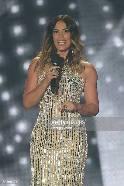 Gaby Espino onstage at the Billboard Latin Music Awards at Bank United Center on April 28 2016 in Miami Florida