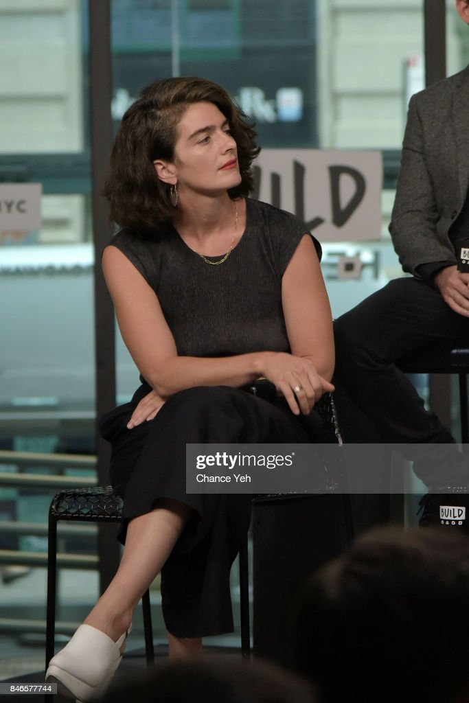 Gaby Hoffmann attends Build series to discuss 'Transparent' at Build Studio on September 13, 2017 in New York City.