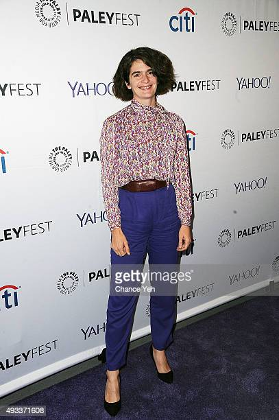 Gaby Hoffmann attends PaleyFest New York 2015 'Transparent' at The Paley Center for Media on October 19 2015 in New York City