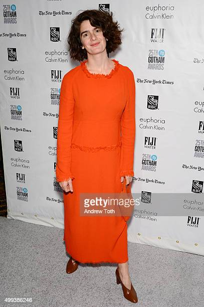 Gaby Hoffmann attends the 25th annual Gotham Independent Film Awards at Cipriani Wall Street on November 30 2015 in New York City