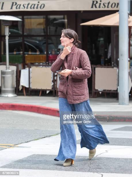 Gaby Hoffmann is seen on May 05 2017 in Los Angeles California