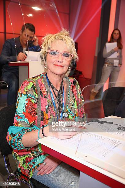 Gaby Koester attends the RTL Telethon 2014 on November 20 2014 in Cologne Germany