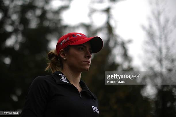 Gaby Lopez of Mexico during the Lorena Ochoa Invitational 2016 at Club de Golf on November 12 2016 in Mexico City Mexico