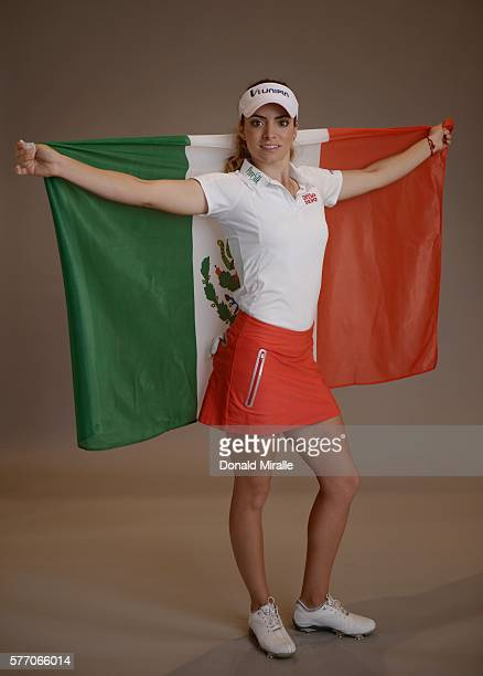 Gaby Lopez poses for a portrait during the KIA Classic at the Park Hyatt Aviara Resort on March 22 2016 in Carlsbad California