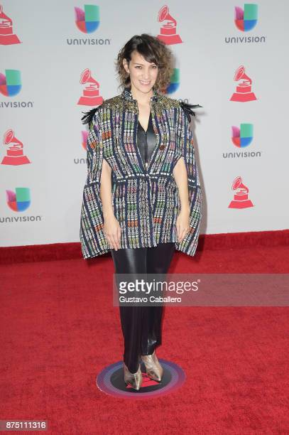 Gaby Moreno attends the 18th Annual Latin Grammy Awards at MGM Grand Garden Arena on November 16 2017 in Las Vegas Nevada