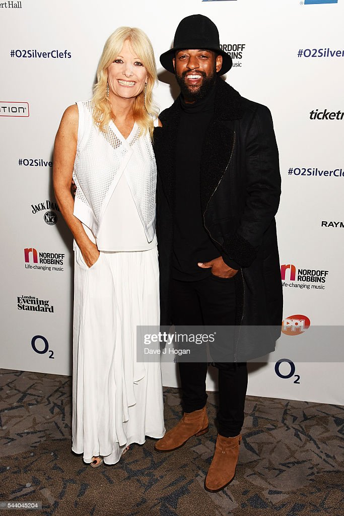 <a gi-track='captionPersonalityLinkClicked' href=/galleries/search?phrase=Gaby+Roslin&family=editorial&specificpeople=208181 ng-click='$event.stopPropagation()'>Gaby Roslin</a> (L) and Ortise Williams pose for a photo during the Nordoff Robbins O2 Silver Clef Awards on July 1, 2016 in London, United Kingdom.