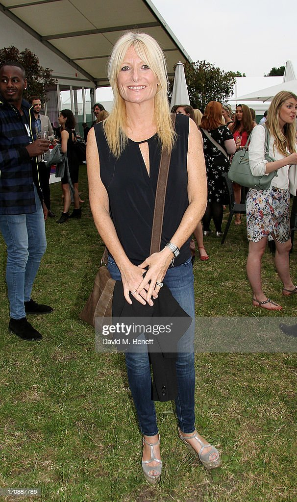 Gaby Roslin attends the VIP Preview for 'Taste of London' at Regent's Park on June 19, 2013 in London, England.