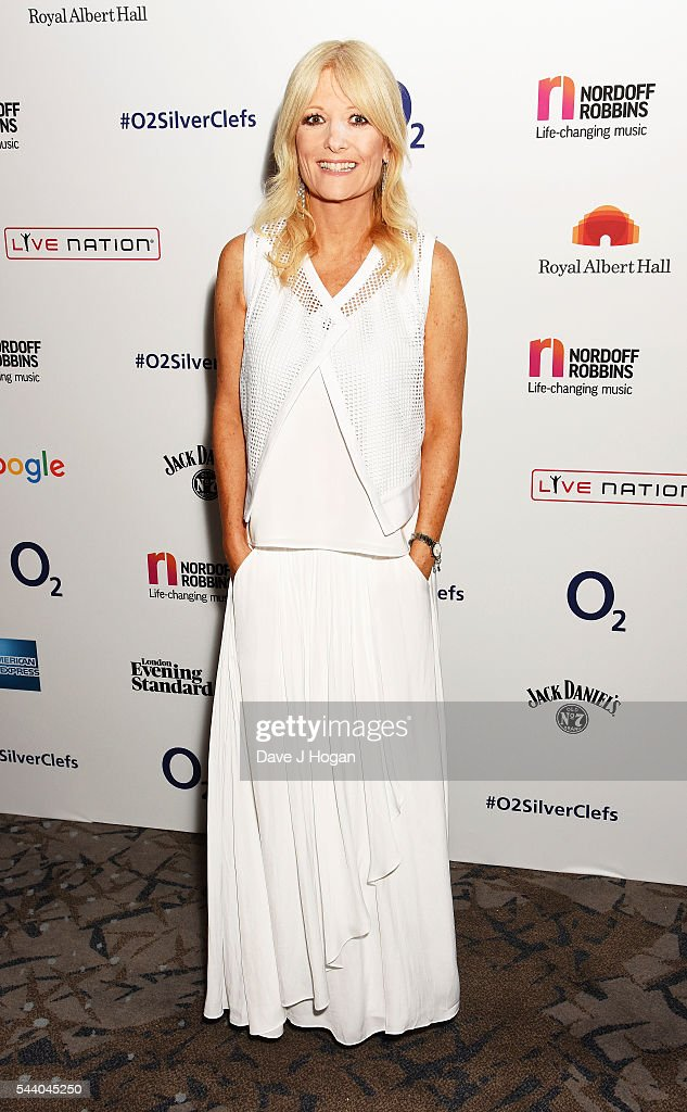 Gaby Roslin poses for a photo during the Nordoff Robbins O2 Silver Clef Awards on July 1, 2016 in London, United Kingdom.