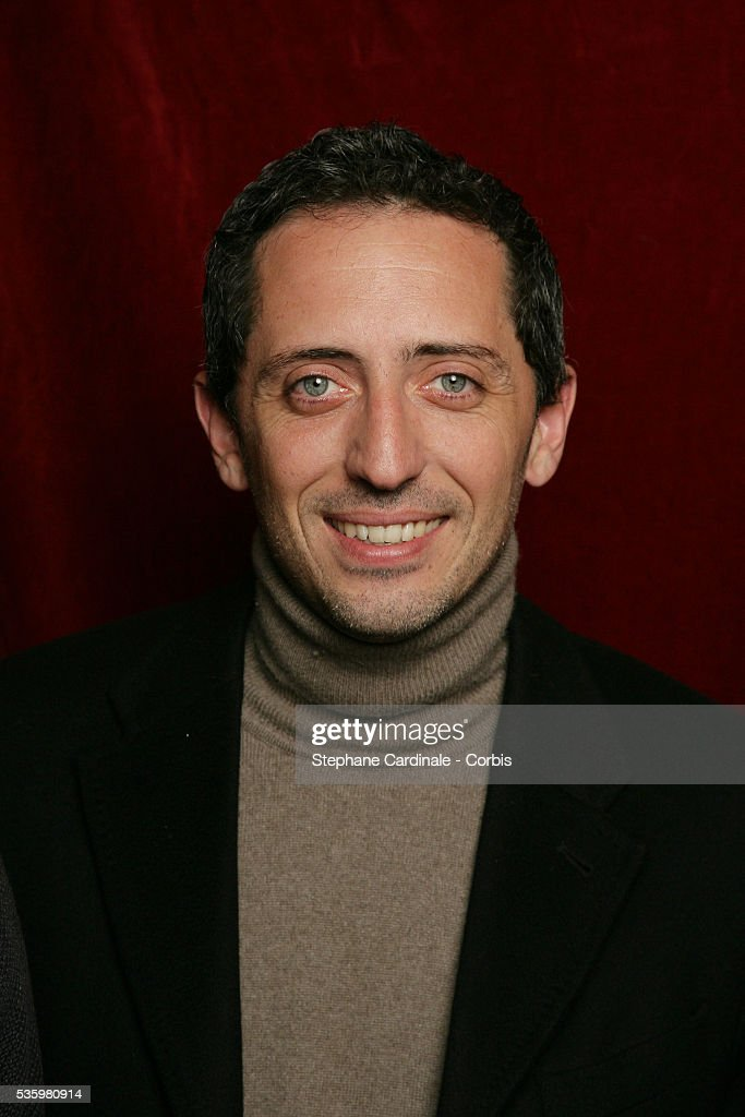 Gad Elmaleh at the 'Henri Jeanson' prize ceremony.