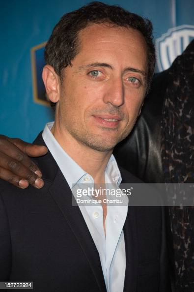 Gad Elmaleh attends Les Seigneurs Premiere at Cinema Gaumont Marignan on September 24 2012 in Paris France