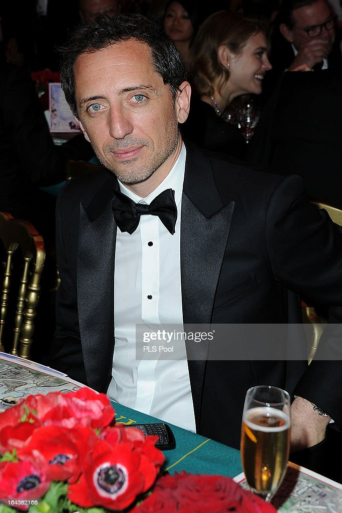 Gad Elmaleh attends the 'Bal De La Rose Du Rocher' in aid of the Fondation Princess Grace on the 150th Anniversary of the SBM at Sporting Monte-Carlo on March 23, 2013 in Monte-Carlo, Monaco.