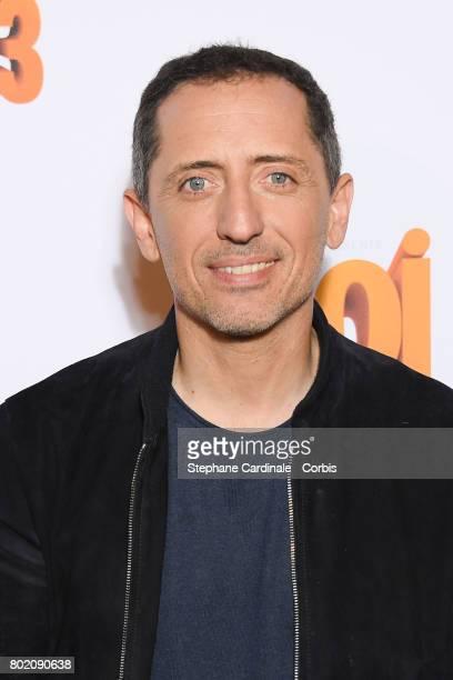 Gad Elmaleh attends the Despicable Me Paris Premiere at Cinema Gaumont Marignan on June 27 2017 in Paris France