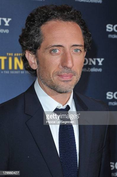 Gad Elmaleh attends 'TINTIN The Secret Of The Unicorn' World Premiere at Le Grand Rex on October 22 2011 in Paris France