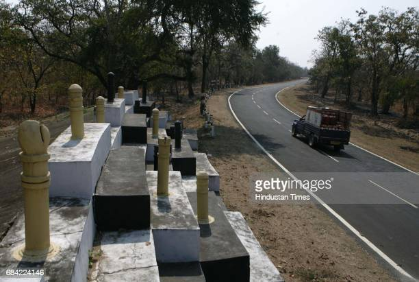 Gadchiroli Naxalism Naxals Naxalite A structure depicting a chess board constructed on Sironcha Road is an apt description of the battle that police...
