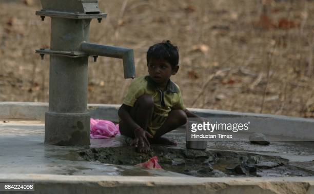Gadchiroli Naxalism Naxals Naxalite Handpumps are the only source of water in the naxal infested region