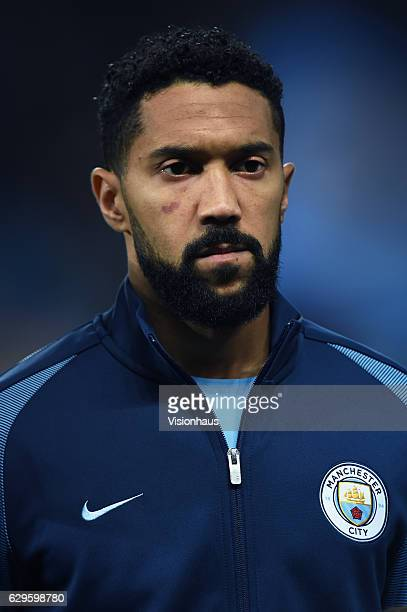 Gael Clichy of Manchester City before the UEFA Champions League match between Manchester City FC and Celtic FC at Etihad Stadium on December 6 2016...