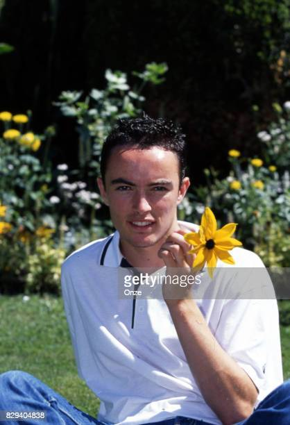 Gael Danic during a photoshoot in Troyes France on 21th August 2001