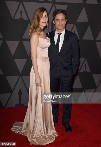 Gael García Bernal attends the Academy of Motion Picture Arts and Sciences' 9th Annual Governors Awards at The Ray Dolby Ballroom at Hollywood...