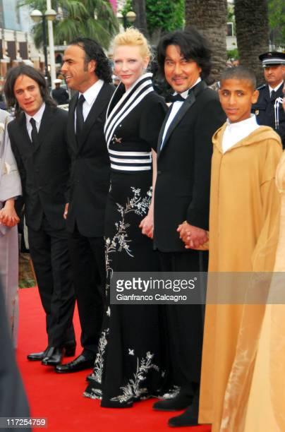 Gael Garcia Bernal Alejandro Gonzalez Inarritu director Cate Blanchett and Koji Yakusho