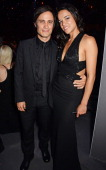 Gael Garcia Bernal and Michelle Rodriguez attend amfAR's 21st Cinema Against AIDS Gala presented by WORLDVIEW BOLD FILMS and BVLGARI at Hotel du...