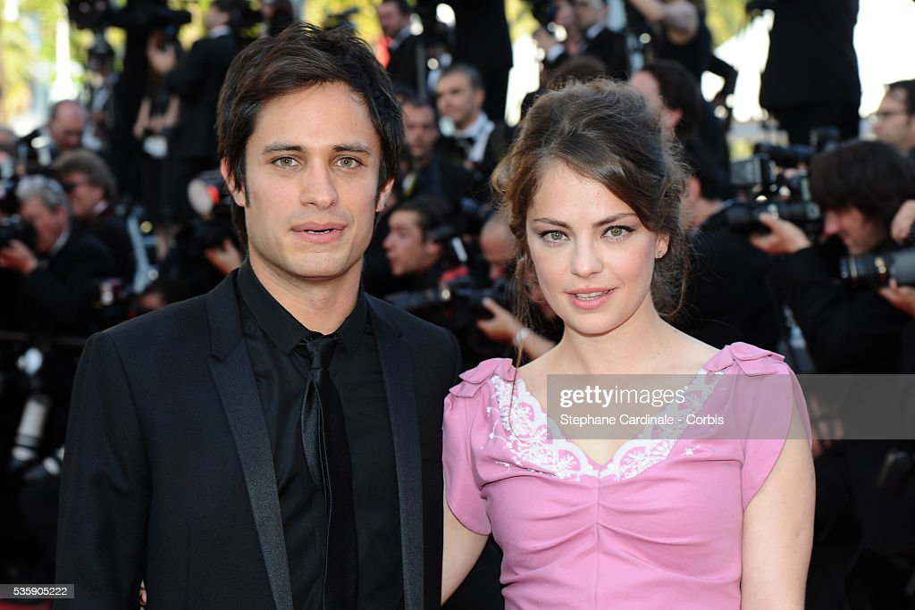 Gael Garcia Bernal and Roxane Mesquido at the Premiere for 'Biutiful' during the 63rd Cannes International Film Festival.