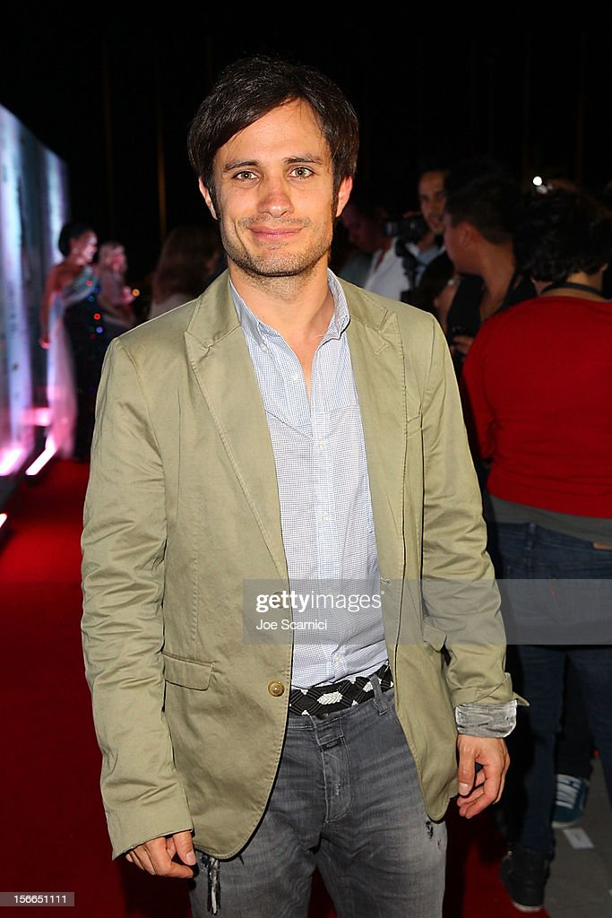 Gael Garcia Bernal arrives to the Closing Night Gala for the Baja International Film Festival at the Los Cabos Convention Center on November 17, 2012 in Cabo San Lucas, Mexico.