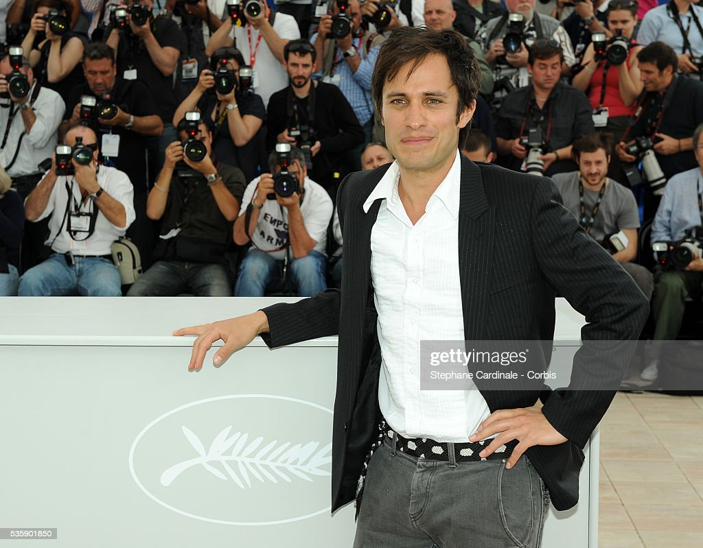 Gael Garcia Bernal at the Camera d' Or Jury Photocall during the 63rd Cannes International Film Festival.