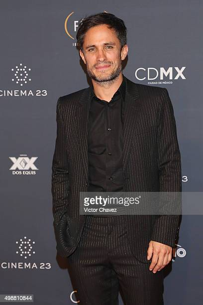 Gael Garcia Bernal attends Premio Iberoamericano de Cine Fenix 2015 at Teatro de La Ciudad on November 25 2015 in Mexico City Mexico