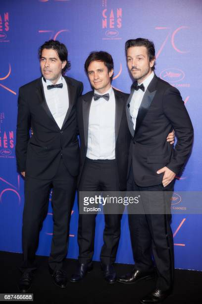 Gael Garcia Bernal attends the 70th Anniversary Dinner during the 70th annual Cannes Film Festival at on May 23 2017 in Cannes France