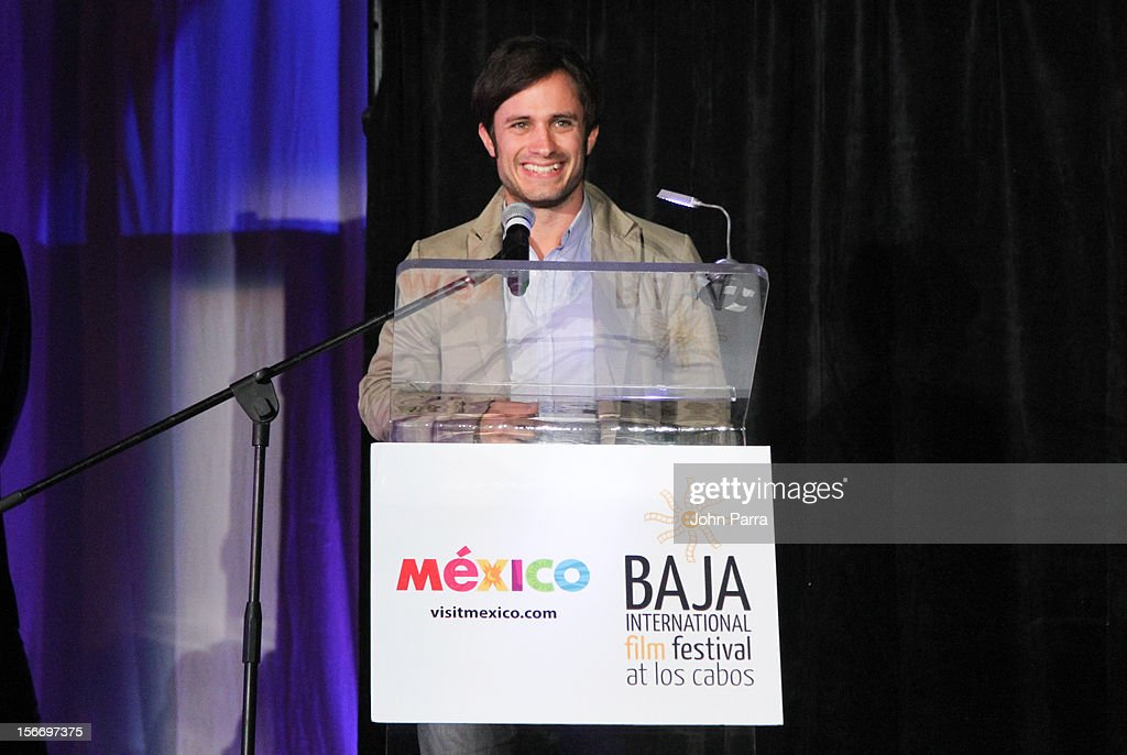 Gael Garcia Bernal attends the Closing Night Gala during the Baja International Film Festival at Los Cabos Convention Center on November 17, 2012 in Cabo San Lucas, Mexico.