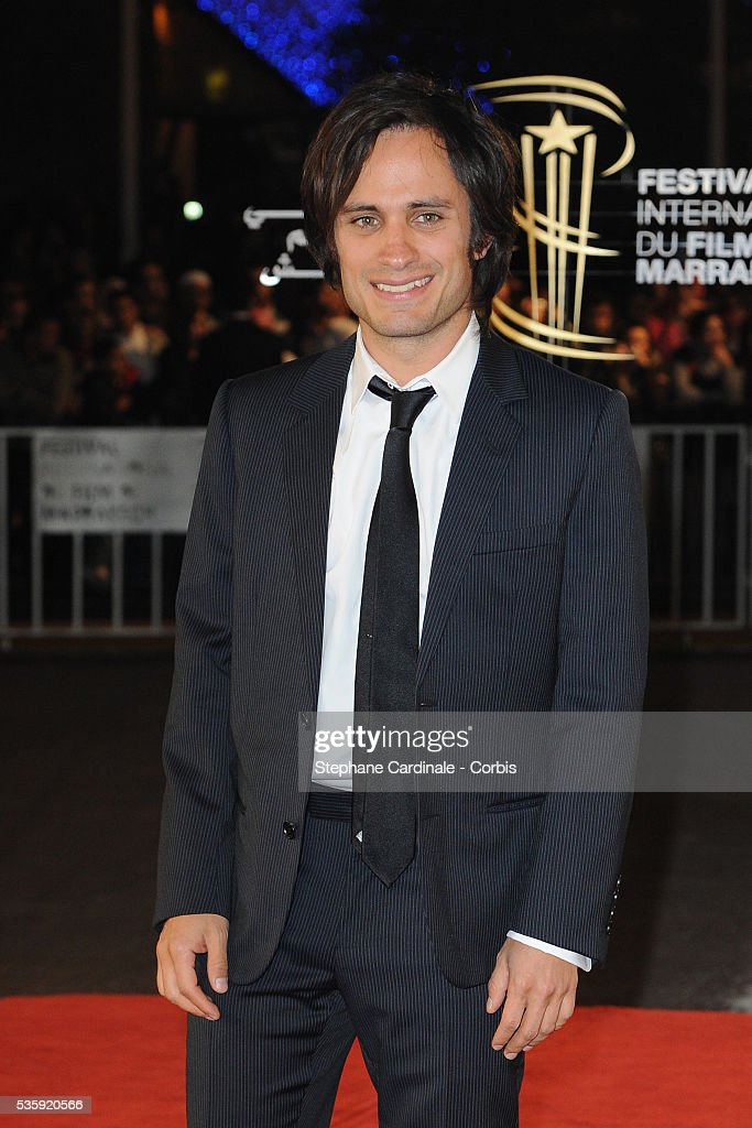 Gael Garcia Bernal attends the Tribute to French Cinema during the Marrakech 10th Film Festival.