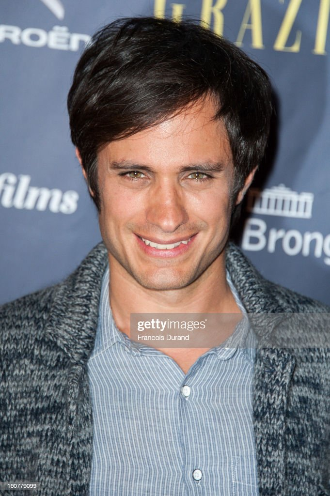 <a gi-track='captionPersonalityLinkClicked' href=/galleries/search?phrase=Gael+Garcia+Bernal&family=editorial&specificpeople=202025 ng-click='$event.stopPropagation()'>Gael Garcia Bernal</a> attends the 'Trophees Du Film Francais' 20th Ceremony at Palais Brongniart on February 5, 2013 in Paris, France.