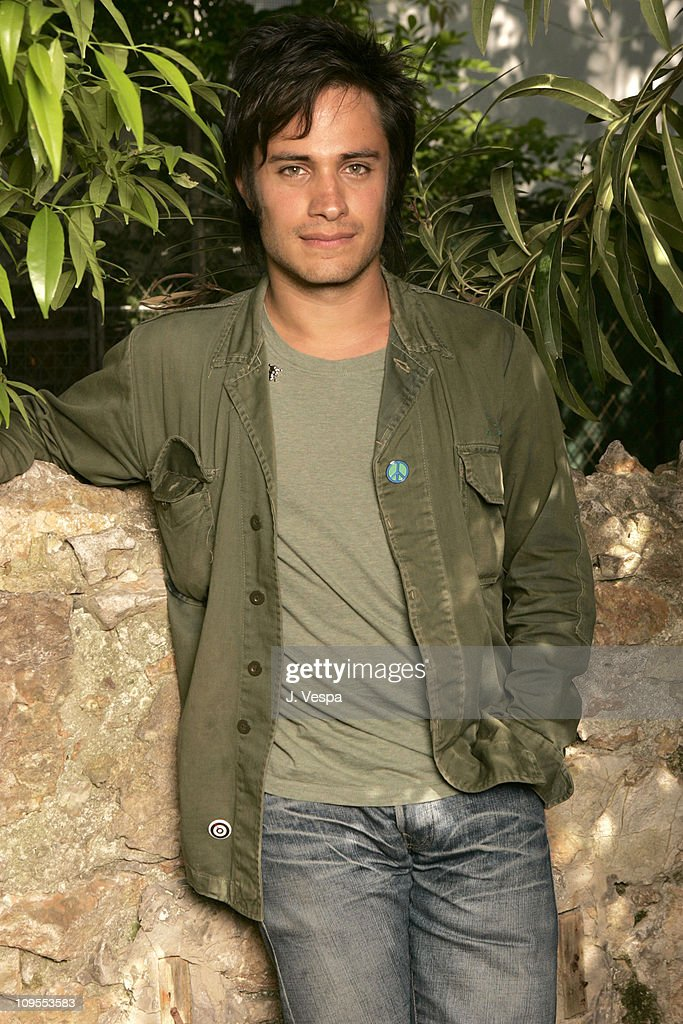 Gael Garcia Bernal during 2004 Cannes Film Festival 'The Motorcycle Diaries' Portraits at Hotel Resideal in Cannes France