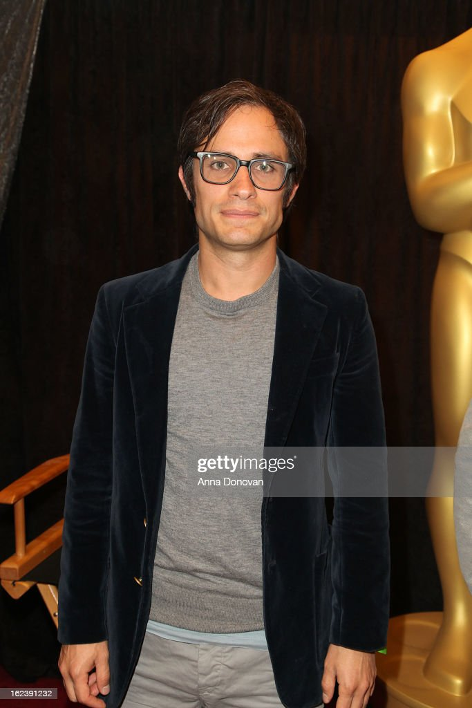<a gi-track='captionPersonalityLinkClicked' href=/galleries/search?phrase=Gael+Garcia+Bernal&family=editorial&specificpeople=202025 ng-click='$event.stopPropagation()'>Gael Garcia Bernal</a> of the film 'No' attends the 85th annual Academy Awards Foreign Language Film Award photo-op held at the Dolby Theatre on February 22, 2013 in Hollywood, California.
