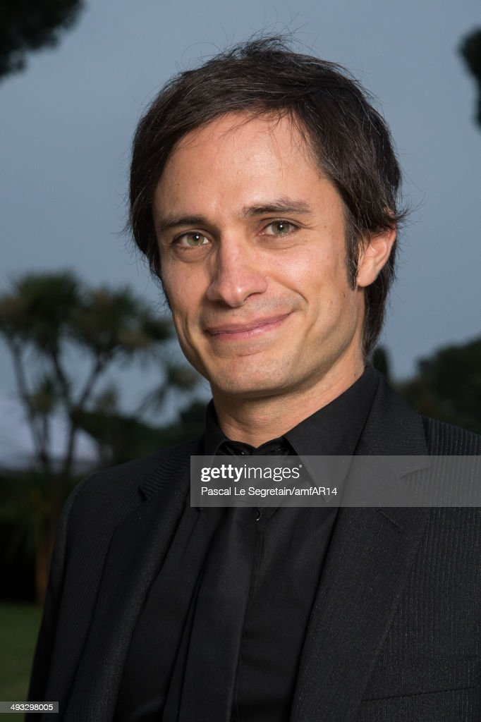 Gael Garcia Bernal poses for a portrait at amfAR's 21st Cinema Against AIDS Gala Presented By WORLDVIEW BOLD FILMS And BVLGARI at Hotel du CapEdenRoc...