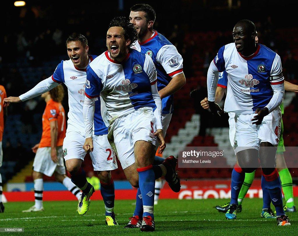 Blackburn Rovers v Newcastle United - Carling Cup Fourth Round