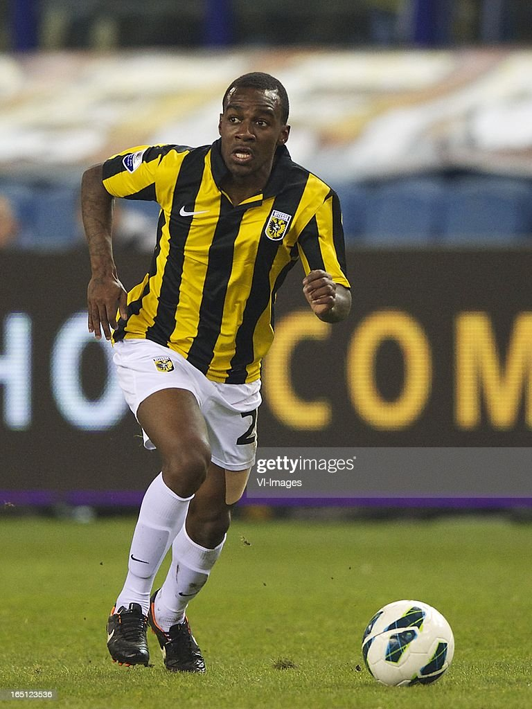 Gael Kakuta of Vitesse during the Dutch Eredivisie match between Vitesse Arnhem and PEC Zwolle at the Gelredome on march 31, 2013 in Arnhem, The Netherlands