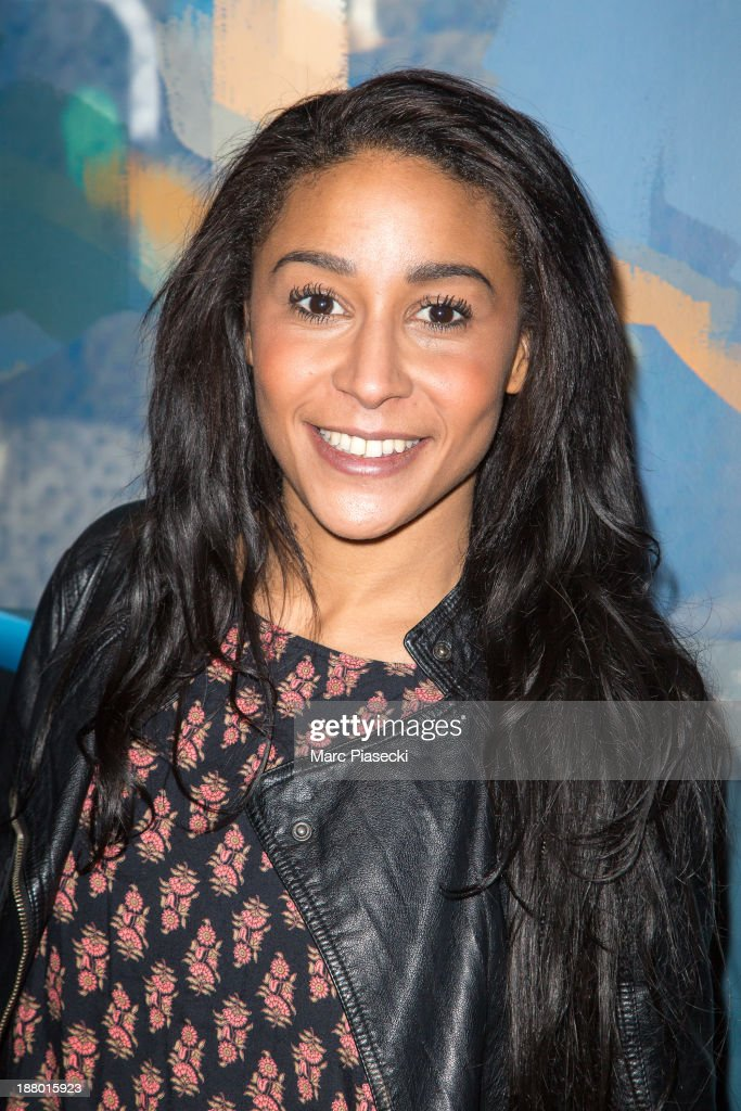 Gaelle Lalanne attends the 'Pixar, 25 years of animation' exhibition on November 14, 2013 in Paris, France.