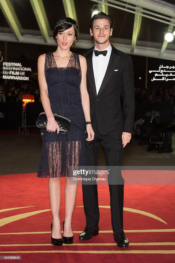 Gaelle Pietri and <a gi-track='captionPersonalityLinkClicked' href=/galleries/search?phrase=Gaspard+Ulliel&family=editorial&specificpeople=241206 ng-click='$event.stopPropagation()'>Gaspard Ulliel</a> attend the Award Ceremony of the 13th Marrakech International Film Festival on December 7, 2013 in Marrakech, Morocco.