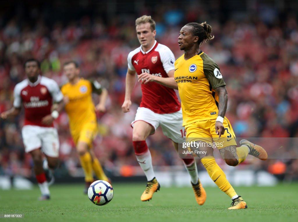 Arsenal v Brighton and Hove Albion - Premier League
