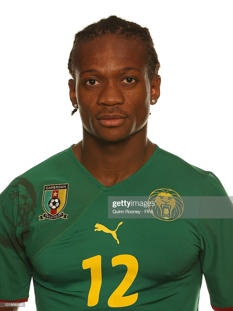 Gaetan Bong of Cameroon poses during the official FIFA World Cup 2010 portrait session on June 10, 2010 in Durban, South Africa.
